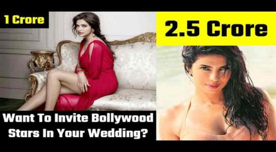 Do You Want to Invite Bollywood Stars