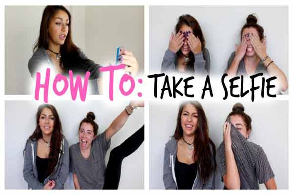 How to take the selfie