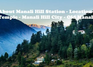 Manali Hill Station