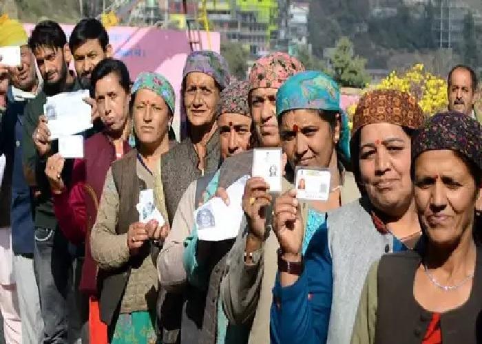 हिमाचल में चारों लोकसभा सीटों पर मतदान आज