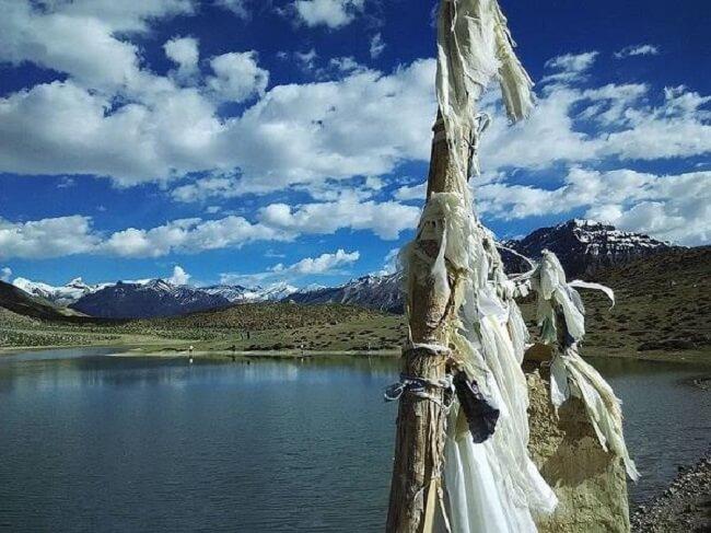 धनकर झील