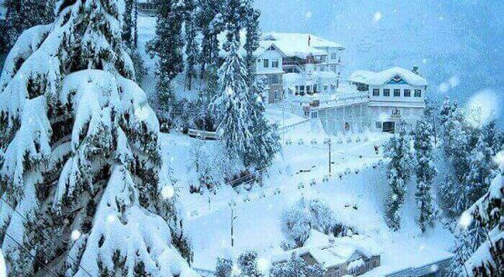 Snowfall Places In Himachal