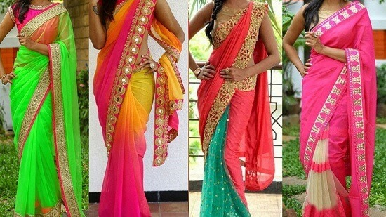 saree Trendy Look for girl
