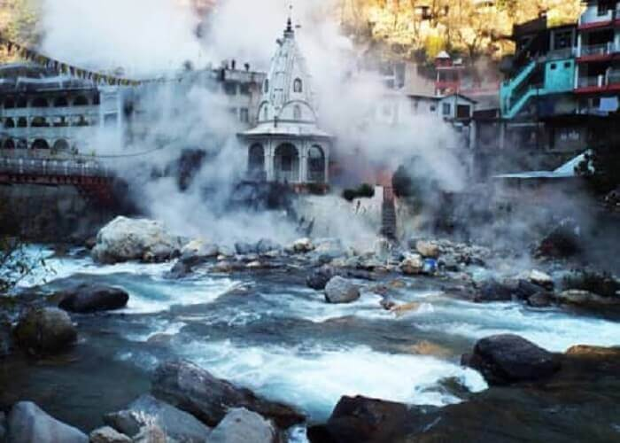 Hot Water spring