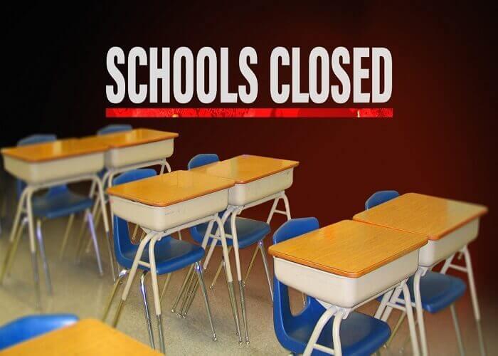 स्कूलों को बंद