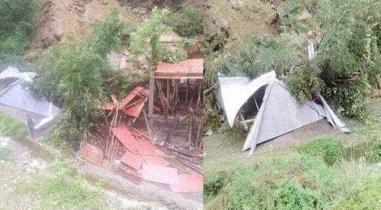 landslide thunag