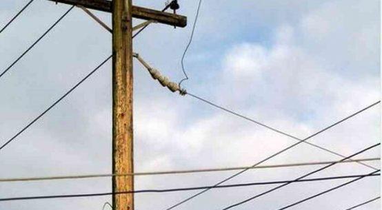 बिजली के खंभे से लगाया था करंट