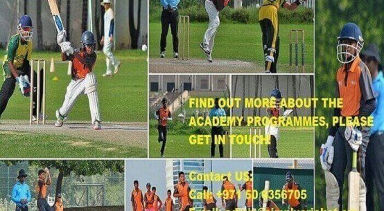 best Cricket Academies in Dubai
